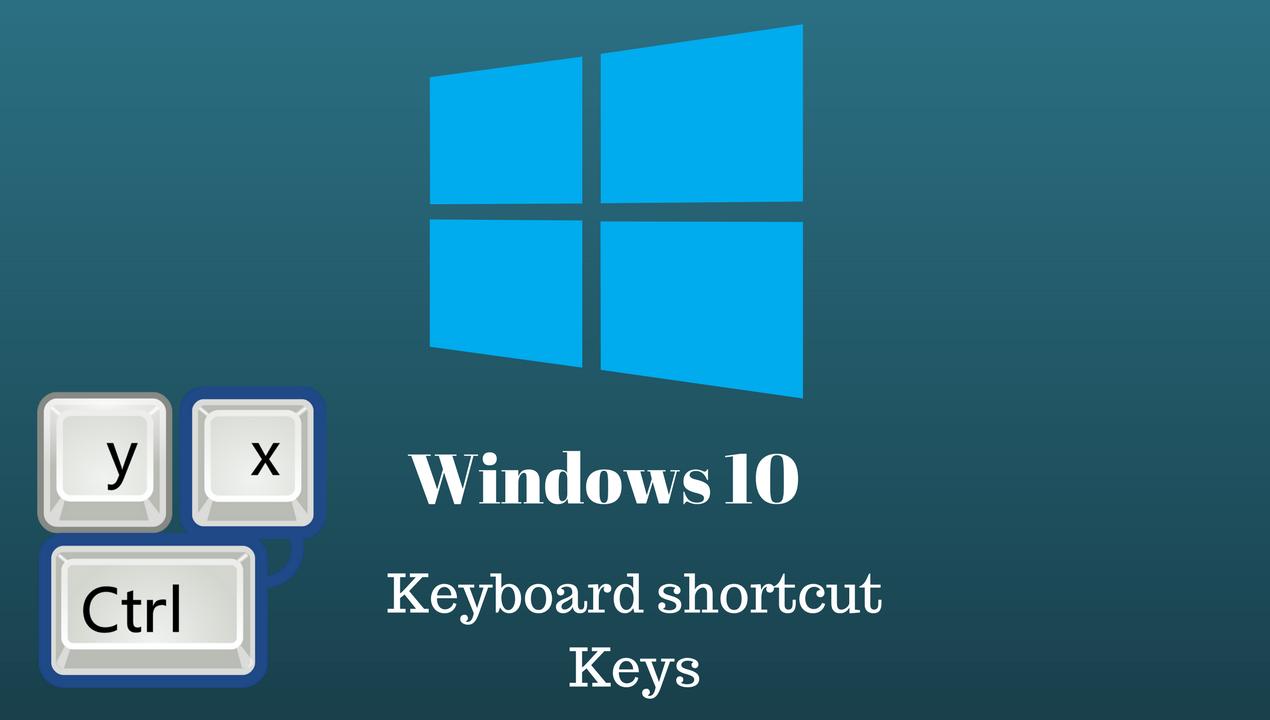 کلیدهای میانبر ویندوز 10